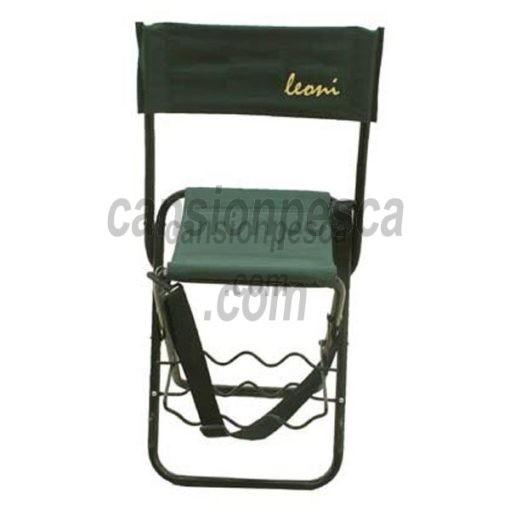 silla leoni con portaca