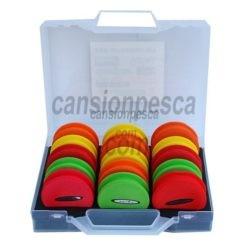caja yuki portabajos 15 plegadores