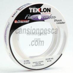 grauvell teklon fluorocarbon shock leader 25m