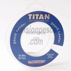 nylon grauvell titan shock leader 50m