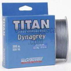 trenzado grauvell titan dynagrey 300m