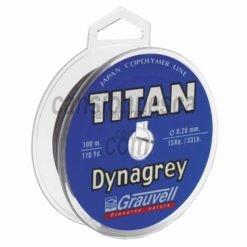 trenzado grauvell titan dynagrey 100m