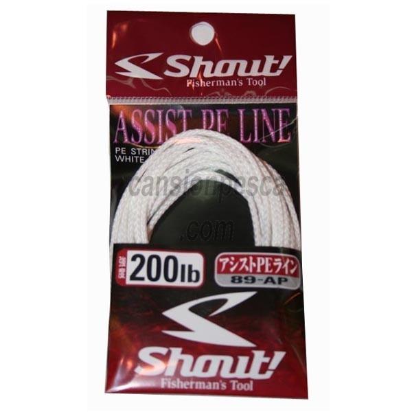 trenzado shout assist pe line 3m