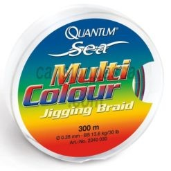 trenzado quantum sea multi colour jigging braid (10 colores) 300m