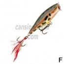 pez rigido rapala skitter pop 5