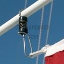 pinza bandera tigrees cabo halyard flag clip