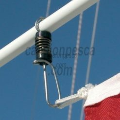 pinza bandera tigress antena antenna flag clip