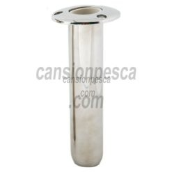 cañero empotrable recto tigress premium 90º acero inox 316 doble grosor