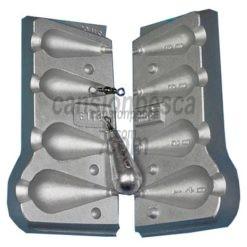 molde de plomo arlesy 60/80/90/140gr n