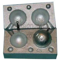 molde de plomo carp ball 120/140gr nº 45 e6