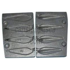 molde de plomo trilobe 80/100/120/140gr nº 24 e6