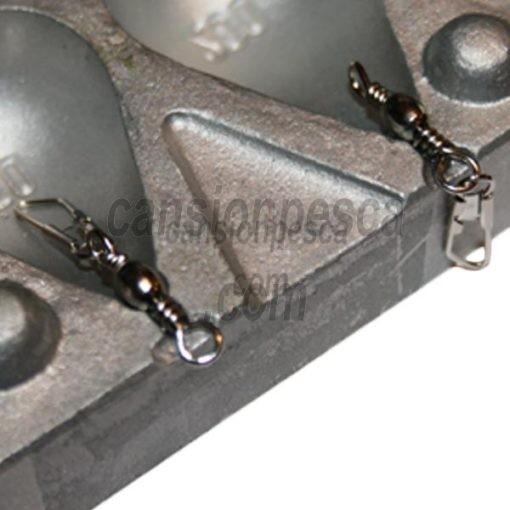 molde de plomo trilobe 80/100/120/140gr n