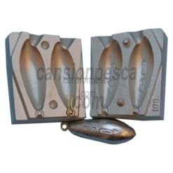 molde de plomo zip 80/90gr nº 109 a1