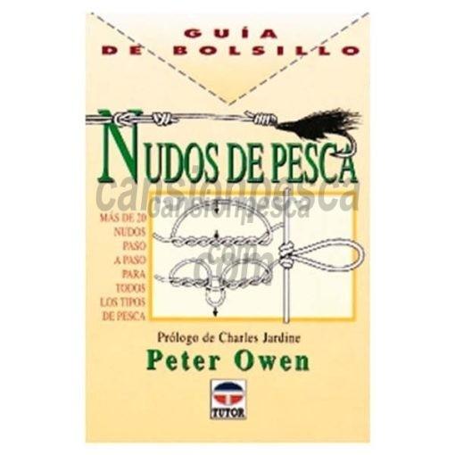 libro guia de bolsillo nudos de pesca
