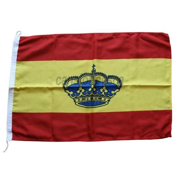 bandera españa corona