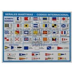 código de señales internacionales pegatina