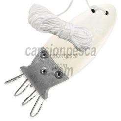 pulpera linea effe madreperla con cuerda