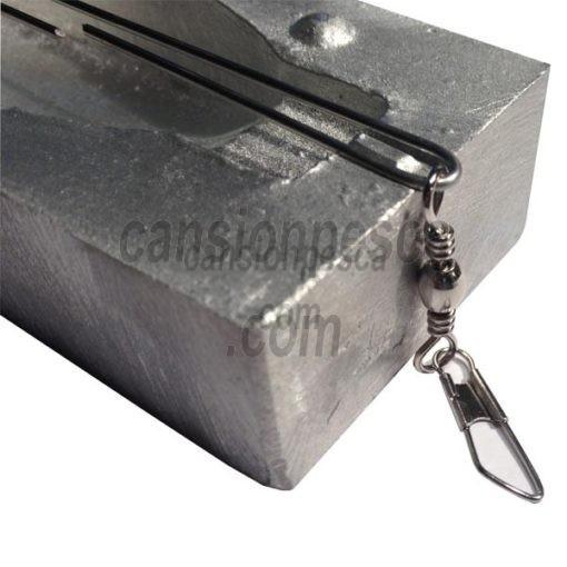 varilla inox molde de plomo gran fondo 100 unidades
