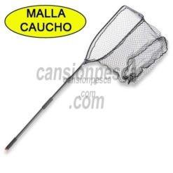 sacadora cormoran pike and boat net malla caucho 2.57m