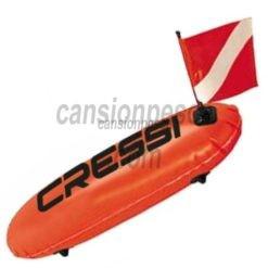 boya cressi torpedo sport con bandera y cabo