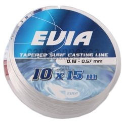 cola de rata evia tapered surf casting line 15mx10