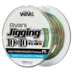 trenzado varivas avani jigging pe multicolor (10mx10 colores) 300m