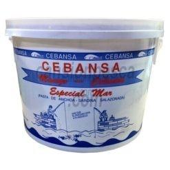 cebo engodo cebansa pasta anchoa y sardina 5kg