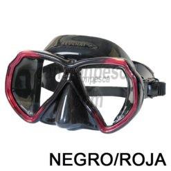 mascara beuchat x contac 2 silicona negra