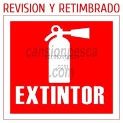 extintor revision y retimbrado