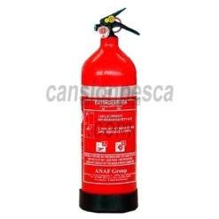 extintor portatil de polvo anaf marino ps2 y abc 2kg