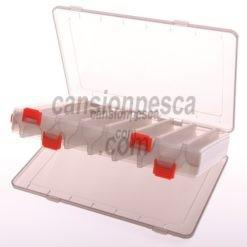 caja evia doble para cebos MHREV01