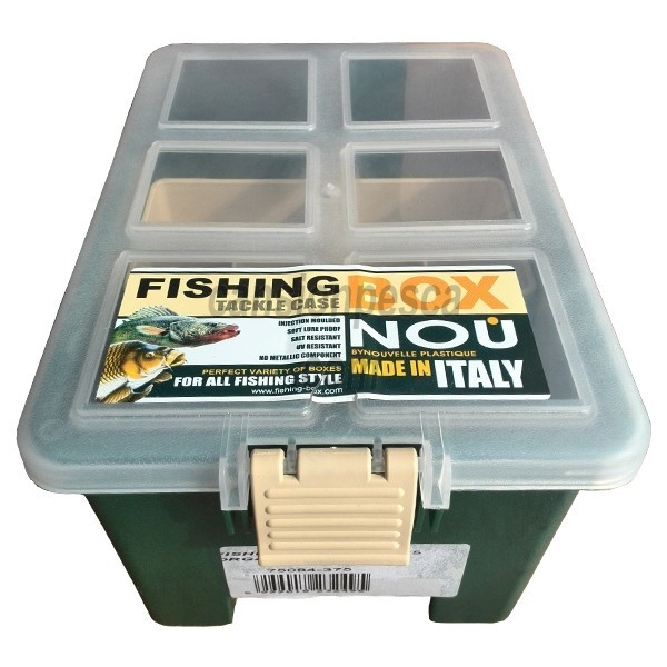 caja colmic fishing box 375
