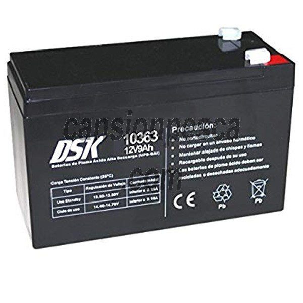 bateria dsk 10363 12v/9ah