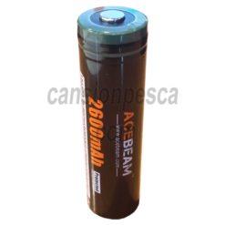 bateria recargable acebeam 18650 2600mAh