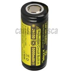 bateria recargable xtar 26650 5000mAh