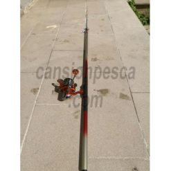 caña tubertini albacore 5mt + carrete daiwa shorecast 5000 evo segunda mano