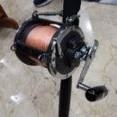 carrete penn senator 9/0 + caña technofish 36 60lb + hilo