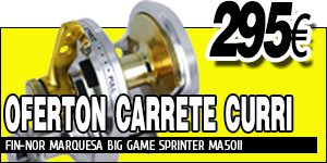 CARRETE FIN-NOR MARQUESA BIG GAME SPRINTER MA50II