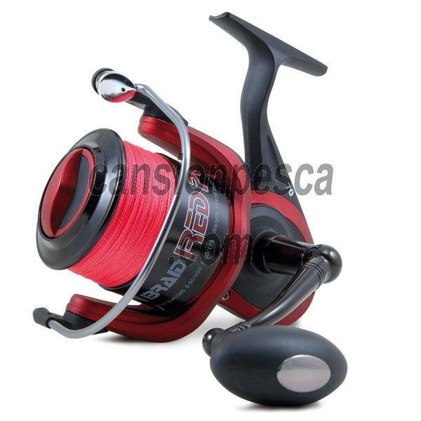 carrete linea effe braid red power II