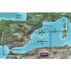 cartografia nautica garmin bluechart g3 Mediterranean Sea Genova Ayamonte