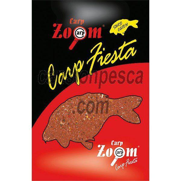 cebo carpa engodo zoom carp fiesta strawberry 3kg