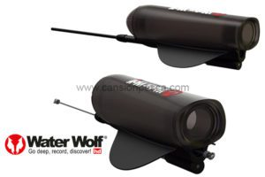 Estabilizador de camara water wolf uw1.0 vertical fishing kit