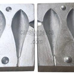 molde de plomo portugues competicion 120/140gr