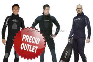 Neoprenos Cressi, Beuchat y Spetton a precio outlet