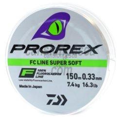 Nylon Daiwa Prorex Fluorocarbon Line Super Soft 150m