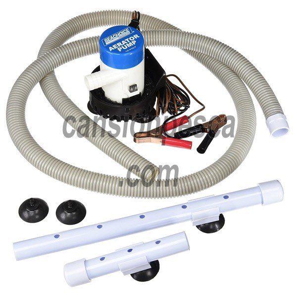 oxigenador seachoice aeration pump system