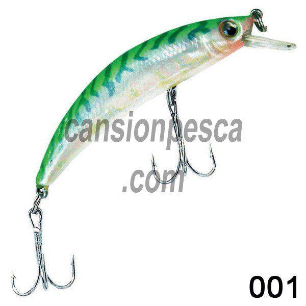 pez rigido zebco minnow diver 6,5cm
