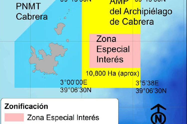 Propuesta de ampliación del PNMT de Cabrera del sector de pesca recreativa